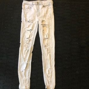 American eagle skinny jeans- new but no tags